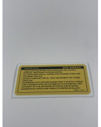 300ZX Z32 Blaster Z 1993-1996 Label-Caution, Air Bag Decal