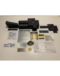 300ZX Z32 Blaster Z 1990-1991 Twin Turbo Engine Bay Decal Kit 1990