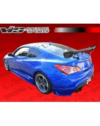 VIS Racing 2010-2013 Hyundai Genesis Coupe Jpc Rear Aprons