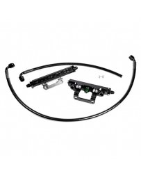 Toyota GT86 Radium Fuel Rail Kit Green