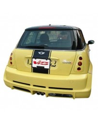 VIS Racing 2002-2006 Bmw Mini Cooper S 2Dr Max Rear Bumper
