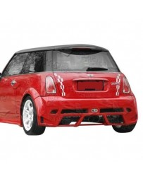 VIS Racing 2002-2006 Bmw Mini Cooper S 2Dr Z Max Rear Bumper