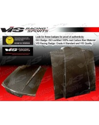 VIS Racing 1994-2004 Gmc Sonoma Fiber Glass Ram Air Hood