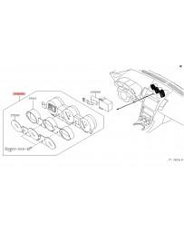 350z DE Nissan OEM Meter Assy - Triple Gauge