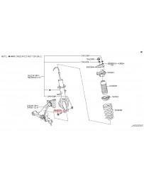 350z Z33 Nissan OEM Front Shock Absorber Bolt