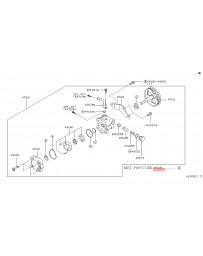 350z Z33 Nissan OEM Seal Kit Power Steering Pump 05-08