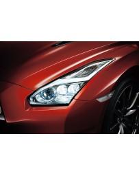 R35 GT-R Nissan OEM Headlight Assembly, Lightning Bolt LED, RH 15-16