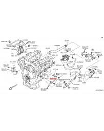 370z Z34 Nissan OEM Pipe Water
