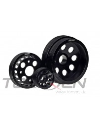 350z DE AMS Motorsports Lightweight Crank Pulley Kit, 3pc