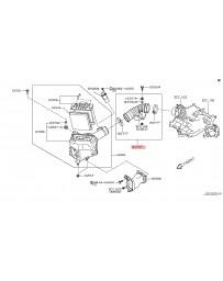370z Z34 Nissan OEM Intake Tube RH