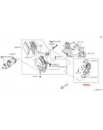 370z Z34 Nissan OEM Intake Tube LH