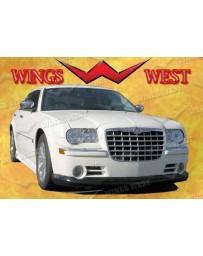 VIS Racing 2005-2010 Chrysler 300C Vip Front Lip Polyurethane Does Not Fit Srt 8