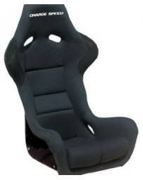 ChargeSpeed Bucket Racing Seat Spiritz SR Type Carbon Black