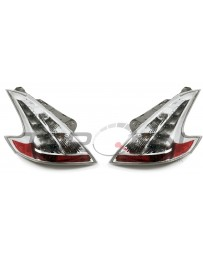 370z Nismo JDM Clear Tail Lights