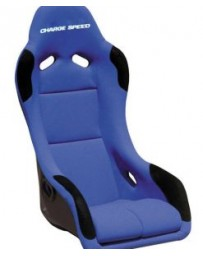 ChargeSpeed Bucket Racing Seat EVO X Type FRP Blue