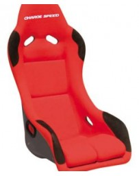 ChargeSpeed Bucket Racing Seat EVO X Type FRP Red