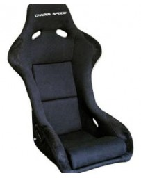 ChargeSpeed Bucket Racing Seat Sport Type Kevlar Black