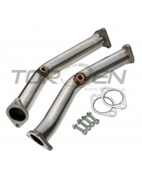 350z Invidia Stainless Steel Test Pipes with Celfix and Bracket