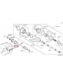 370z Z34 Nissan OEM Half Shaft to Differential Bolt
