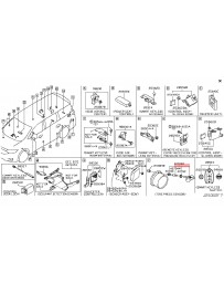 370z Z34 Nissan OEM TPMS Tire Pressure Monitoring System Sensor Assembly, 03/10+