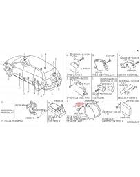 350z Z33 Nissan OEM Tire Pressure Sensor Monitor Cap