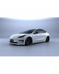 Artisan Spirits Black Label Front Bumper Garnish (FRP) - Tesla Model 3 2017+