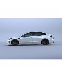 Artisan Spirits Black Label 3pc Kit (FRP) - Tesla Model 3 2017+