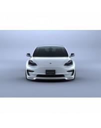 Artisan Spirits Black Label Front Under Spoiler (FRP) - Tesla Model 3 2017+