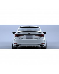 Artisan Spirits Black Label Rear Roof Spoiler (FRP) - Lexus ES350 /350 F Sport 2018-