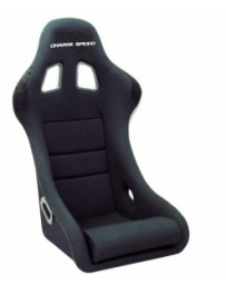 ChargeSpeed Bucket Racing Seat Shark Type FRP Black