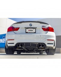 ARK Performance DT-S Cat-Back Exhaust System Burnt Dual Tip BMW M3 Sedan M4 Coupe 14+ S55 F80, F82