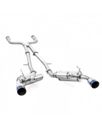 ARK Performance GRiP Cat-Back Exhaust System Burnt Tip - RWD & AWD - Infiniti Q50 3.0t Silver / Red Sport V37