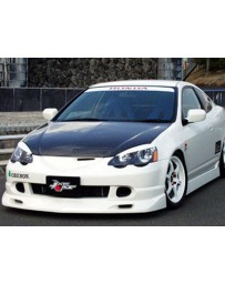 ChargeSpeed 02-04 Acura RSX DC-5 Front Lip (Japanese FRP)
