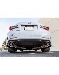 ARK Performance GRiP Cat-Back Exhaust System Burnt Tip - Lexus RC350 RWD 2015 - 2018