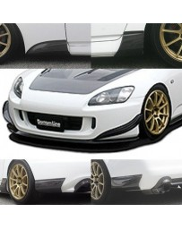ChargeSpeed S2000 AP2 Bottom Line Full Lip Kit Carbon (6PCS)