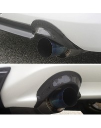 ChargeSpeed S2000 AP-1 Carbon Heat Shields For Exhaust Tip
