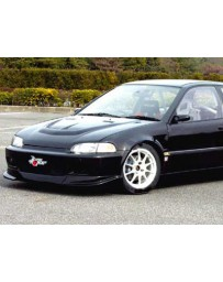 ChargeSpeed 92-95 Civic EG HB/ Coupe Type-2 Front Spoiler