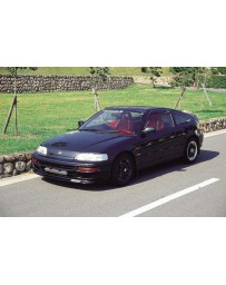 ChargeSpeed 90-91 CRX EF HB CARBON Front Spoiler