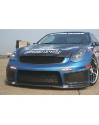 ChargeSpeed 03-07 Infiniti G-35 Coupe Front Bumper