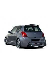 VIS Racing 2005-2008 Suzuki Swift 4Dr Viper Rear Bumper