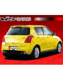 VIS Racing 2005-2008 Suzuki Swift 4Dr D Speed Rear Bumper