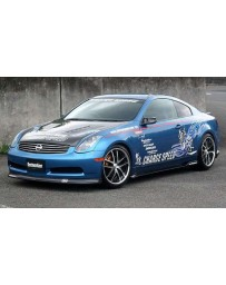 ChargeSpeed 03-05 Infiniti G-35 Coupe Bottom Line Lip Kit FRP