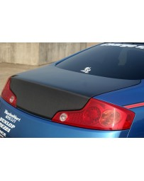 ChargeSpeed 03-07 Infiniti G-35 Coupe Carbon Trunk