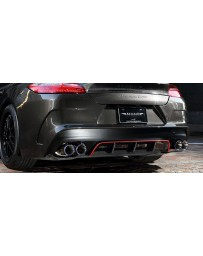 Artisan Spirits Sports Line ARS Rear Bumper Kit (FRP) - Porsche Panamera Turbo 970CWBA 2009-2014