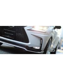 Artisan Spirits Black Label LED Bumper Garnish (FRP) - Lexus NX 200t/300h F-Sport 2014-2016
