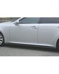 ChargeSpeed Lexus IS250/ IS350 Bottom Line Side Skirts Carbon
