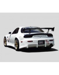 ChargeSpeed Mazda RX7 Wide Rear Bumper