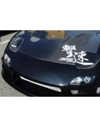 ChargeSpeed RX7 FD FRP Flip HeadLight Covers