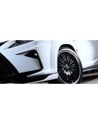 Artisan Spirits Black Label Front Bumper Garnish (CFRP) - Lexus RX-F Sport 2015-