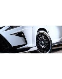 Artisan Spirits Black Label Front Bumper Garnish (FRP) - Lexus RX-F Sport 2015-